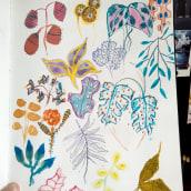 Meu projeto do curso: Técnicas de ilustração para desbloquear sua criatividade. Un projet de Illustration de Fernanda Serafim - 09.04.2020
