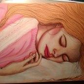 Paz mental . Un proyecto de Dibujo artístico de Olivia Suero - 09.04.2020
