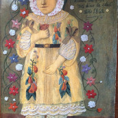 Muerte niña. A Embroider project by Daniel Herrera - 04.11.2020