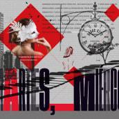 Mi Proyecto: Collage digital Editorial. Un proyecto de Fotografía, Diseño editorial, Diseño gráfico e Ilustración digital de Lydia Sánchez - 11.04.2020