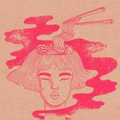 Soye, Korean eas - eat. Un projet de Illustration, Br, ing et identité , et Design graphique de Susana Ríos - 11.04.2020