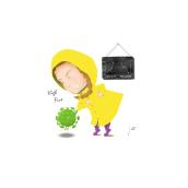 Choca esos cinco!. Un proyecto de Ilustración, Diseño de personajes, Bellas Artes, Dibujo, Ilustración digital y Dibujo digital de José Cubillas - 12.04.2020