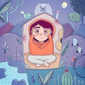 Mi Proyecto del curso: Ilustración digital: crea desde tu imaginación. A Illustration, and Digital illustration project by Brenda Matilla - 04.13.2020