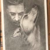 Mi Proyecto del curso: Retrato realista con lápiz de grafito. A Pencil drawing project by Isabel Pedrosa - 04.13.2020