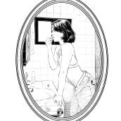 GIRL TODAY #1. Un proyecto de Dibujo artístico e Ilustración de Samuel Chuquizuta - 14.04.2020
