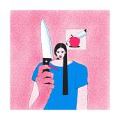 Algunos proyectos de ilustración 2019.. A Illustration, and Drawing project by Ulises Mendicutty - 04.15.2020