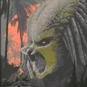 Depredador. Un proyecto de Diseño de carteles e Ilustración de Cristian Eres - 15.04.2020