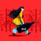 Invino Fest. Un proyecto de Ilustración y Diseño gráfico de Sr Reny - 16.04.2020