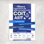 Diseño de campaña para 39 edición de los Premios COIT - AEIT. A Poster Design project by Comando Z : Packaging - Maquetación - Web - Ilustración - 04.17.2020