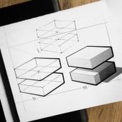 Sketches   Line Weight. Un progetto di Design, Illustrazione, Design industriale, Product Design , e Disegno di Fran Molina - 16.09.2019
