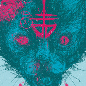 KittyBrainz DropDead Contest. A Design, Illustration, Grafikdesign und Zeichnung project by Pedro Pérez Mendoza - 18.04.2020