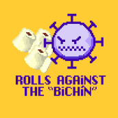 """Rolls against the """"bichín"""". A 2D Animation, Game Development, and Game Design project by maría robles afuera - 04.18.2020"""
