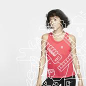 Twiske Molen Loop   Illustration + Branding. Un proyecto de Br, ing e Identidad, Diseño gráfico e Ilustración vectorial de ely zanni - 20.04.2020