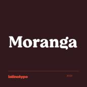 Moranga. Un progetto di Design tipografico di Latinotype - 24.06.2020