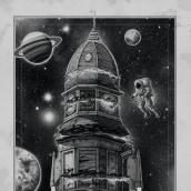"""""""Atlantis House"""". Um projeto de Ilustração, Desenho a lápis, Desenho, Ilustração digital, Desenho realista e Desenho artístico de Miguel Pérez García - 23.04.2020"""