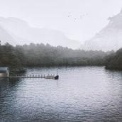 LakeHouse. Un proyecto de 3D e Infografía de Jordi Pujante - 23.04.2020