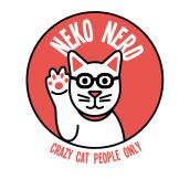 Neko Nerd, una marca para 'nerds' amantes de los gatos. Un projet de Illustration vectorielle de Paula de Aguirre García - 24.04.2020