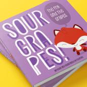 Ilustração digital para contos infantis  SOUR GRAPES. Un projet de Design graphique et Illustration de Fabio Rex - 26.04.2020