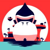 KONG ISLAND. A Illustration project by Carlos Enrique Jáuregui Camacho - 25.04.2020