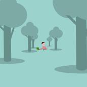 Proyecto Final. Kid, rana y el bosque. . Um projeto de Motion Graphics, Design gráfico, Animação de personagens e Animação 2D de Antonio Hidalgo - 27.04.2020