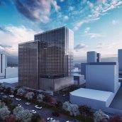 Proyecto edificio en Guatemala 1011. A 3D, and Architecture project by Ricardo De León - 11.05.2019