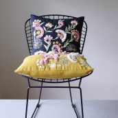 Cushion design. A Design, Crafts, and Textile illustration project by Olga Prinku - 04.28.2020