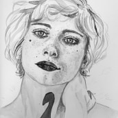 Mi Proyecto del curso: Introducción a la ilustración con tinta china. Un proyecto de Bellas Artes de Sonia Salvador Luna - 29.04.2020