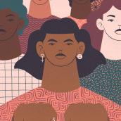 Time's Up Now x Society6 Collab. Un progetto di Illustrazione digitale, Illustrazione , e Design di poster  di Carmela Caldart - 01.09.2019