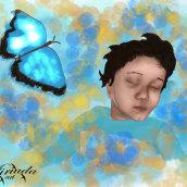 Shhh. A Digital illustration project by Jenny Carralero Rodríguez - 04.30.2020