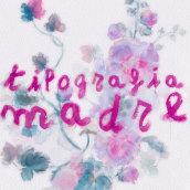 Tipografía Madre. A T, pograph, T, pograph, and design project by Comando Z : Packaging - Maquetación - Web - Ilustración - 05.03.2020