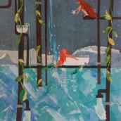 Mi Proyecto del curso: Ilustración de historias con papel. Um projeto de Ilustração de Ainhoa Aramburu Urruzola - 03.05.2020
