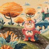Johnson & Johnson. Um projeto de Ilustração, Ilustração digital e Pintura digital de Victor Beuren - 04.05.2019