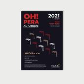 Poster para Opera al Parque. A Design, and Portfolio Development project by KAN KUN - 05.05.2020
