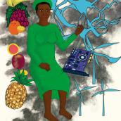 Maya , personaje . A Children's Illustration project by Jenny Carralero Rodríguez - 05.05.2020