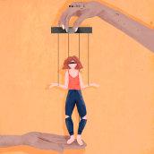 Marioneta. Un proyecto de Dibujo digital, Ilustración digital y Pintura digital de Nuria Berruezo Sanchez - 02.05.2020