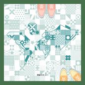 El mundo a tus pies. Un proyecto de Dibujo digital, Ilustración digital e Ilustración vectorial de Nuria Berruezo Sanchez - 05.04.2020