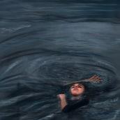Ella y el mar . Un proyecto de Dibujo digital de Olivia Suero - 06.05.2020