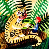 Mi Proyecto del curso: Técnicas de ilustración para desbloquear tu creatividad. A Illustration project by Prida De Paula - 05.06.2020