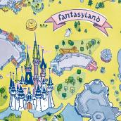 Mapa Fantasy Land . Un projet de Illustration de Ángela Alcalá Alcalde - 27.04.2019