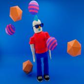 Mi Proyecto del curso: Diseño de personajes en Cinema 4D. A 3D project by Alejandro Vicente - 05.10.2020