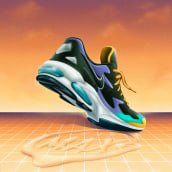 AIR MAX 2 Light. A Design & Illustration project by DSORDER - 05.10.2020