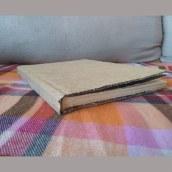 Meu projeto do curso: Encadernação artesanal sem costuras. A Bookbinding project by Márcia Cristina da Silva Sousa - 05.10.2020