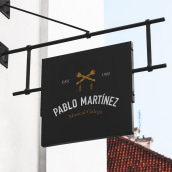 Pablo Martínez. A Br, ing, Identit, and Graphic Design project by 988 - 01.01.2015