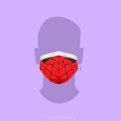 Cool Mask. Un progetto di Illustrazione , e Direzione artistica di Alberto Cuartones - 13.05.2020