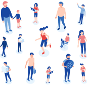 Nippon Rent-A-Car. Un progetto di Design, Illustrazione, Character Design, Animazione di personaggi, Illustrazione vettoriale e Illustrazione digitale di Raúl González - 01.10.2019