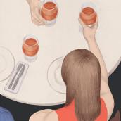 Illustrations for Vanity Fair. A Bleistiftzeichnung und Digitale Zeichnung project by Silja Goetz - 13.05.2020