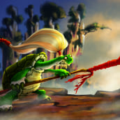 The Turtle Warrior . A 2D Animation project by ejr_04 - 05.14.2020