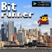 Bit Runner. A Videospiele project by Steve Durán - 05.07.2014