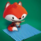 Scrapefoot: Ilustração e design de personagens para contos infantis. Un projet de Illustration, Character Design, Illustration jeunesse , et Peinture numérique de Fabio Rex - 16.05.2020