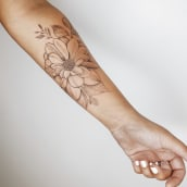 Mis primeras pieles. Un proyecto de Diseño de tatuajes e Ilustración de Núria Galceran - 17.05.2020